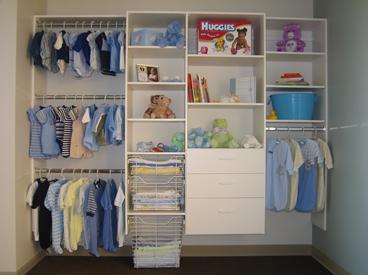 Baby Clothes Closet Organizer